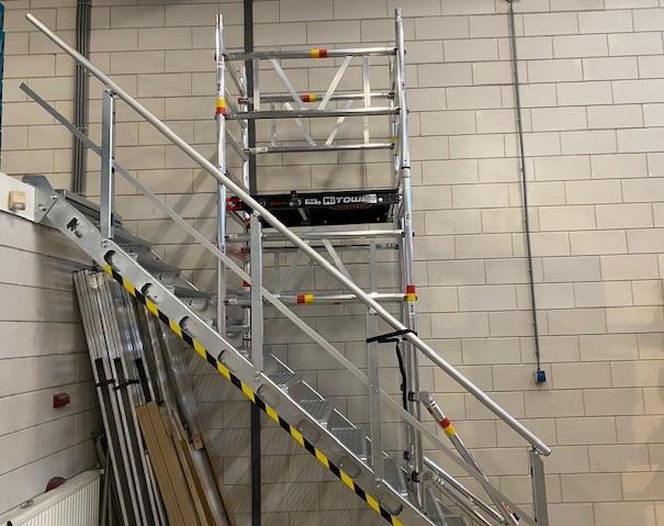 Trapgatsteiger Mitower stairs