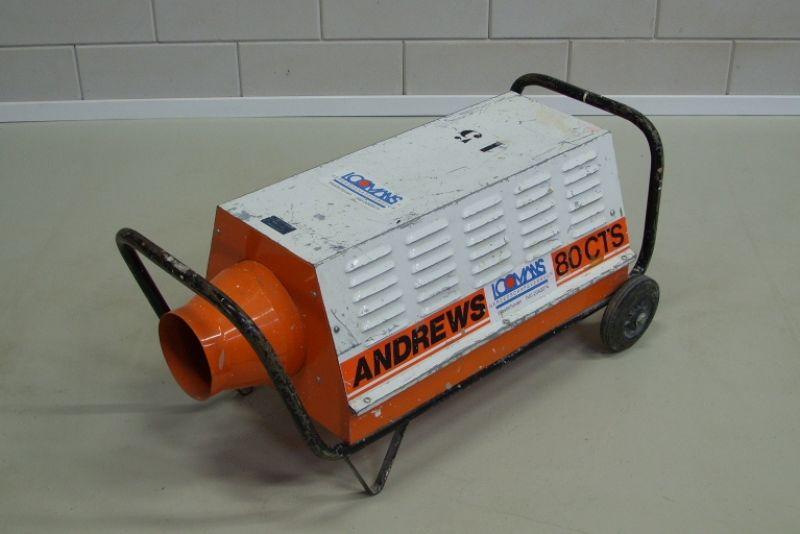 Elektroheather 380 V