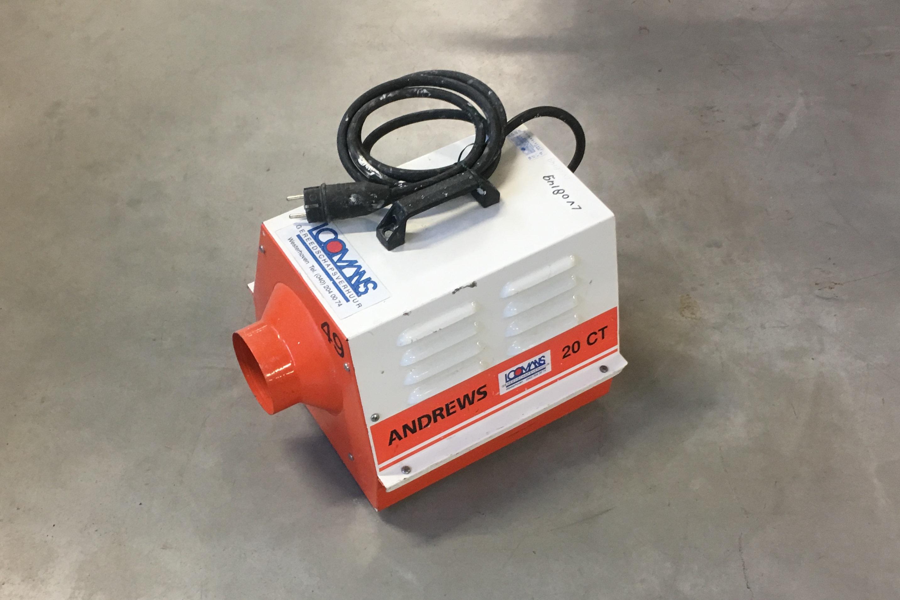 Elektroheather 230 V