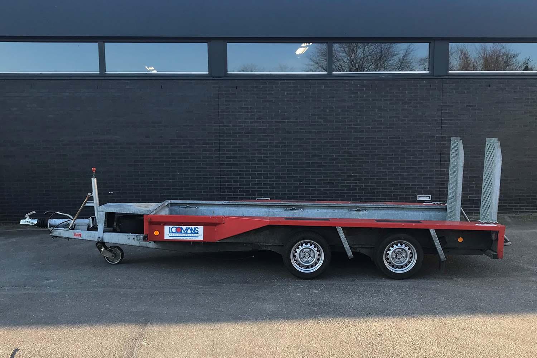 Aanhanger machinetransporter 3500 kg